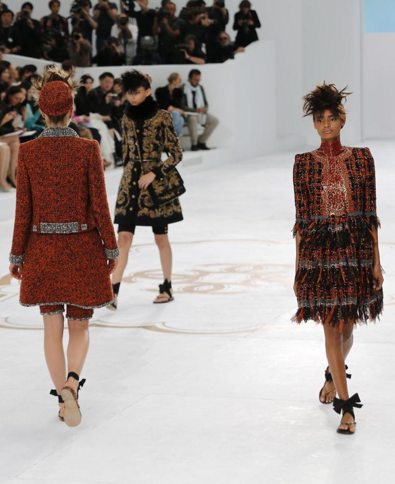 Chanel armani e dior protagonisti dell 39 alta moda a parigi for Chanel alta moda