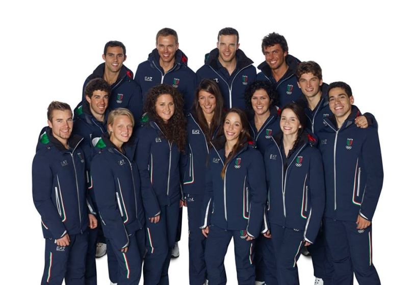 FOTO  Armani divise Olimpiadi Sochi  collezione completa - Velvet ... a6cd354b97f9b