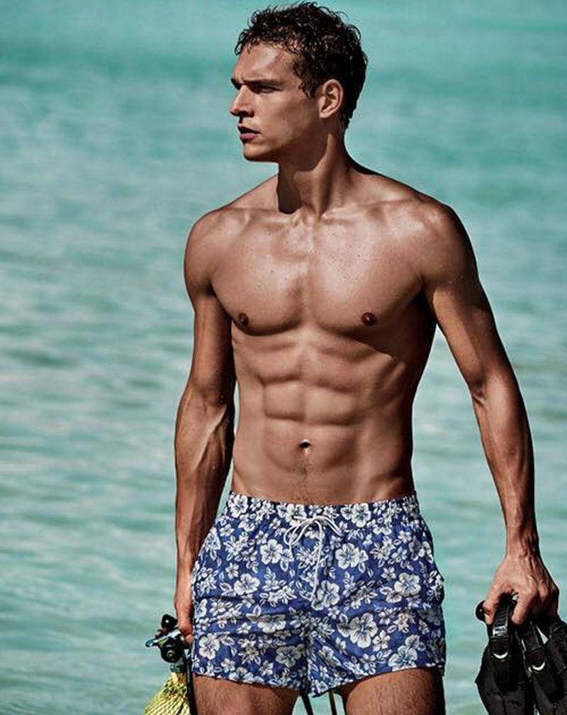 Goldenpoint mare fantasie floreali e look sportivi per i costumi da uomo velvet style - Costume da bagno brasiliano ...