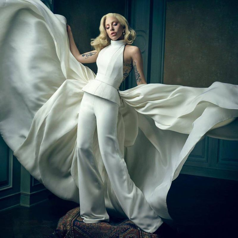 Lady Gaga al party di Vanity Fair