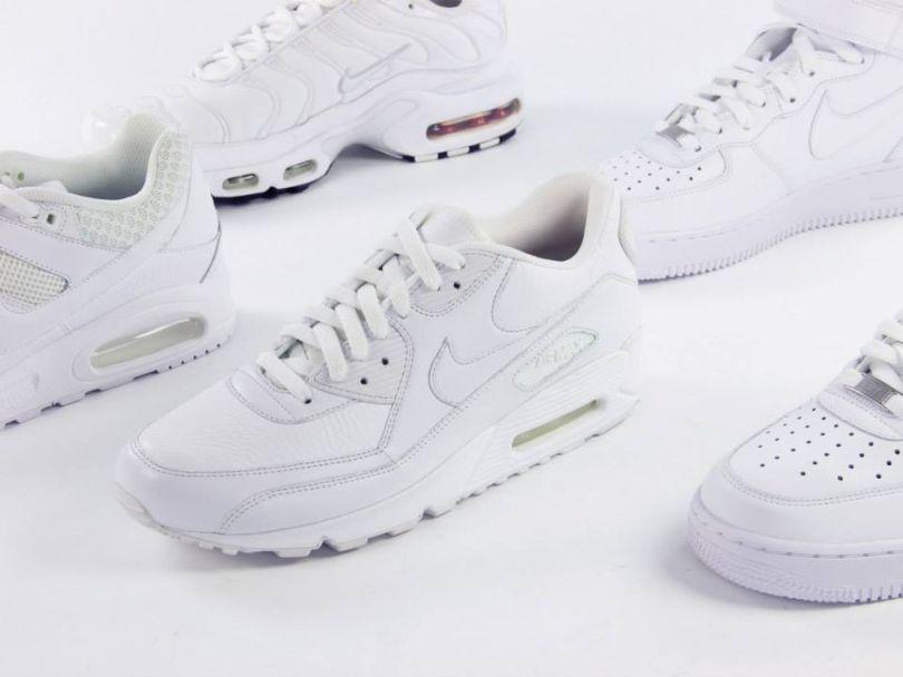 lavare scarpe nike air force