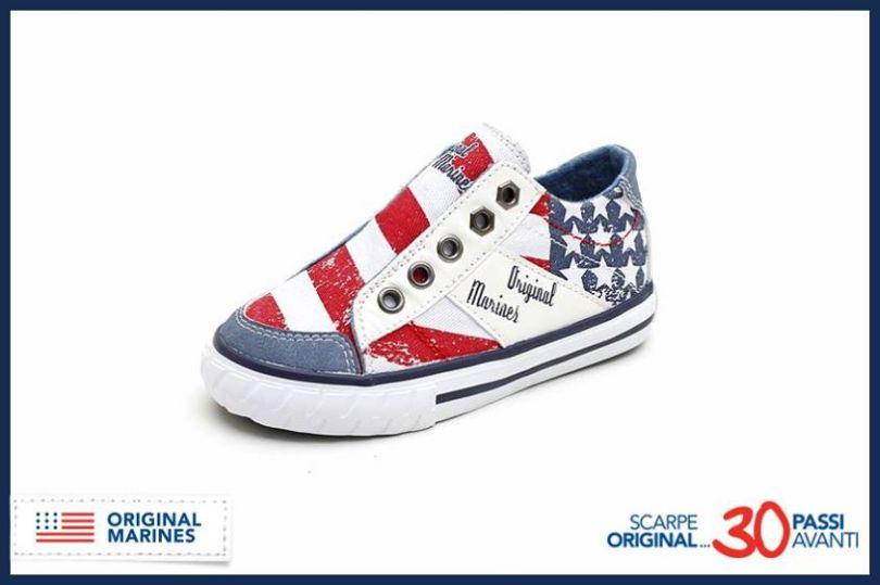 Sneakers bianche per bambini Original Marines JaS2TEf9Q