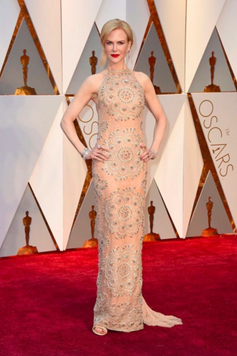 Oscar 2017 - Nicole Kidman - Armani Privé