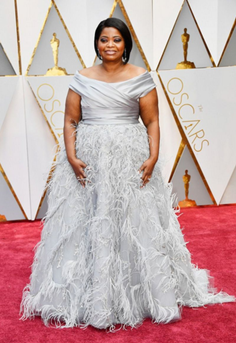 Oscar 2017- Octavia Spencer - Marchesa