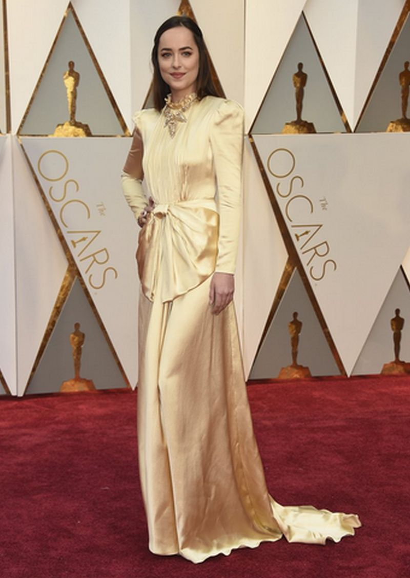 Oscar 2017-Dakota Johnson - Gucci