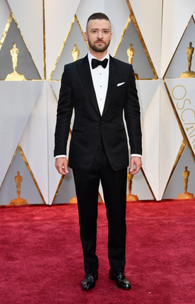 Oscar 2017 - Justin Timberlake - Tom Ford