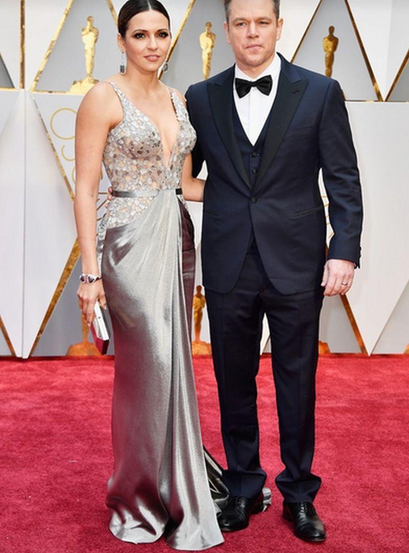 Oscar 2017 - Matt Damon - Luciana Barroso