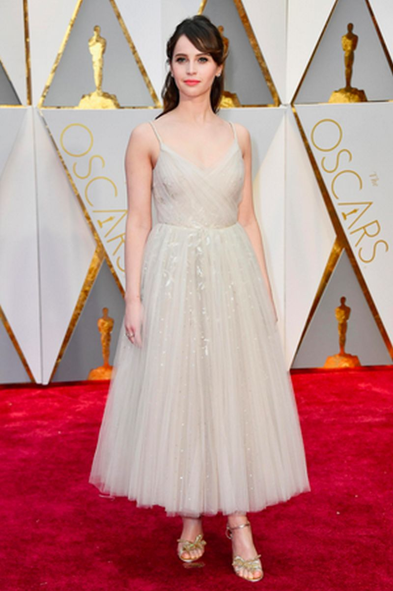 Oscar 2017 - Felicity Jones - Dior Haute Couture