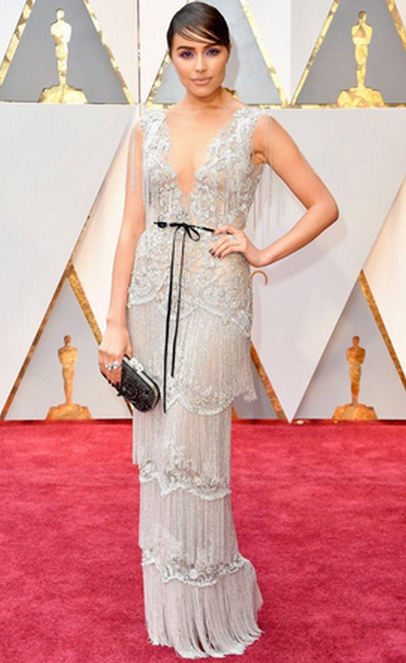 Oscar 2017-Olivia Culpo - Marchesa