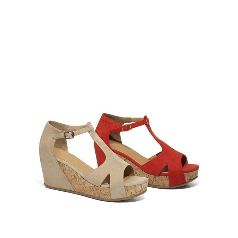 Un'estate E Flat Hqrtdscx Colorata Fashion Pittarossosandali Zeppe Per dBeQxrCoW