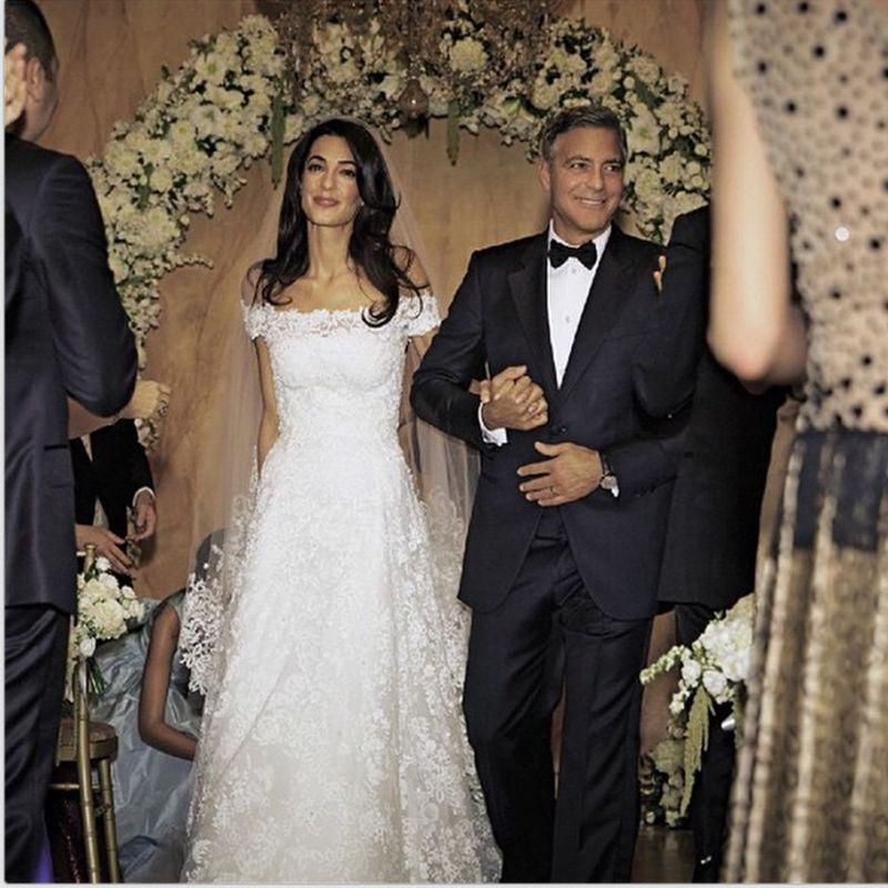 speciale matrimoni vip gli abiti in amp out delle spose