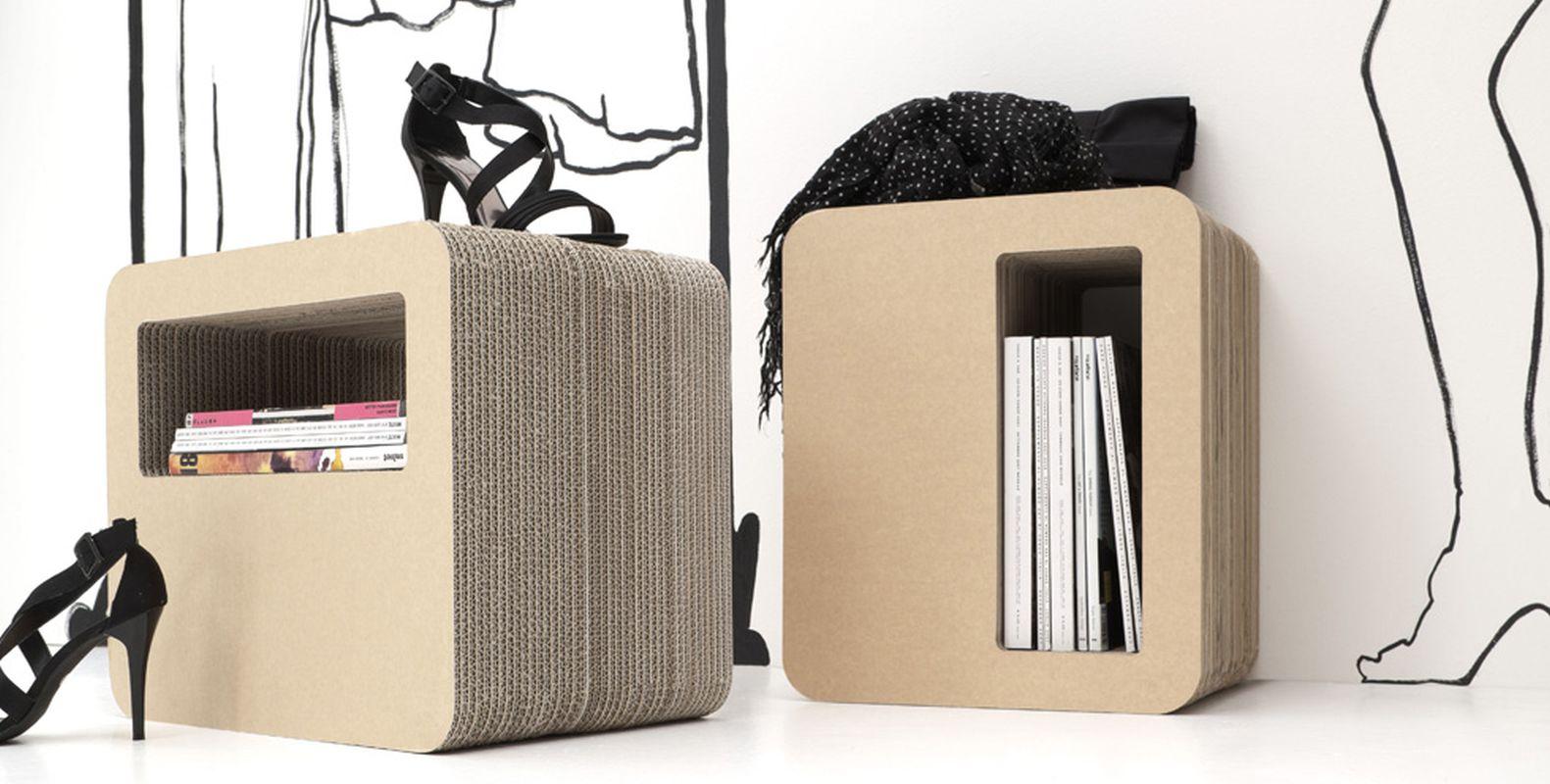 Foto mobili kshop in cartone ondulato velvet style - Mobili in cartone design ...