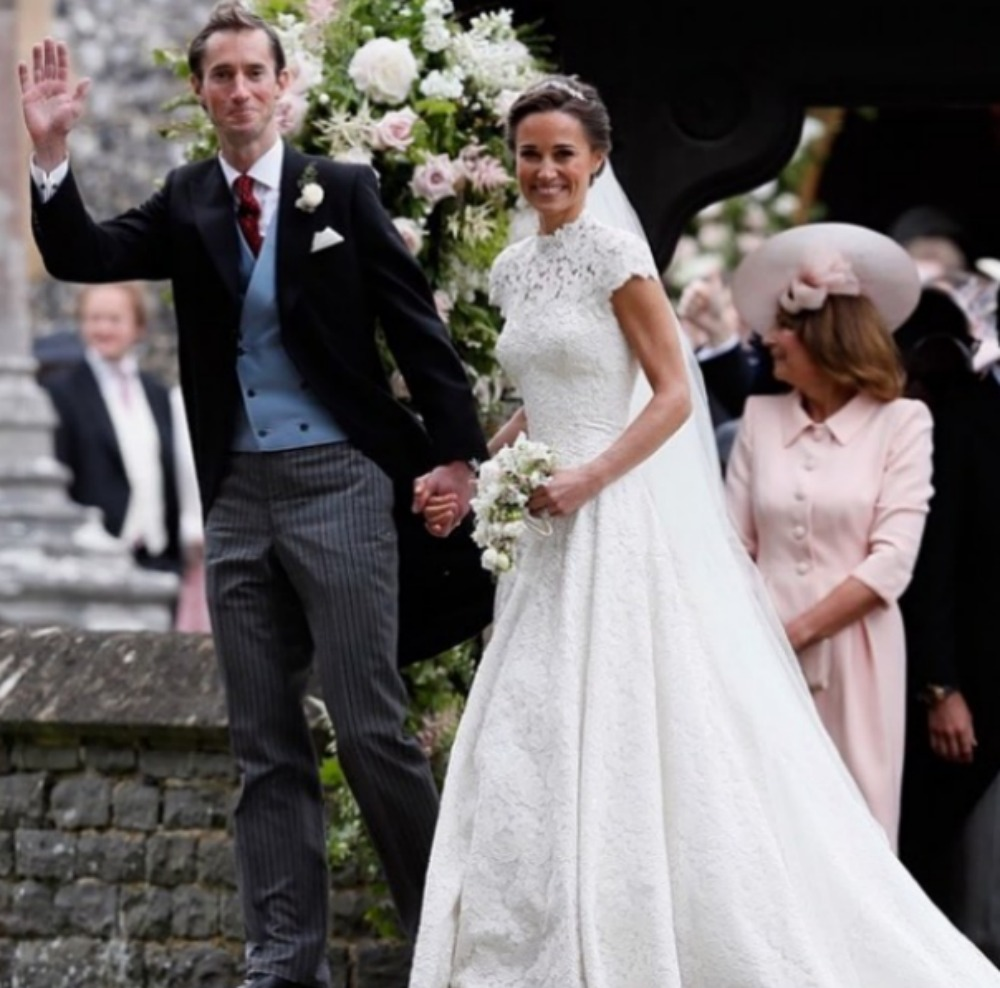 Pippa Middleton e James Matthews matrimonio 19