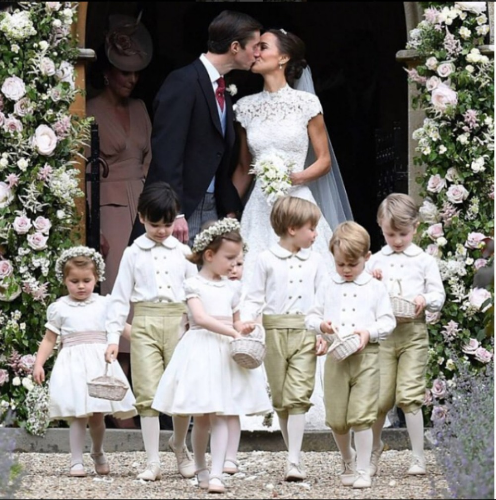 Pippa Middleton e James Matthews matrimonio 22