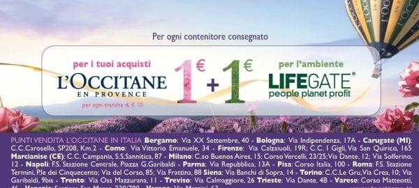 L'Occitane e Lifegate
