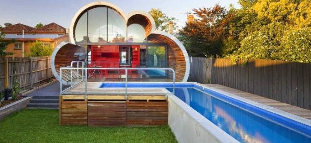 La cloud house la casa a forma di nuvola esiste davvero for Casa a forma di v