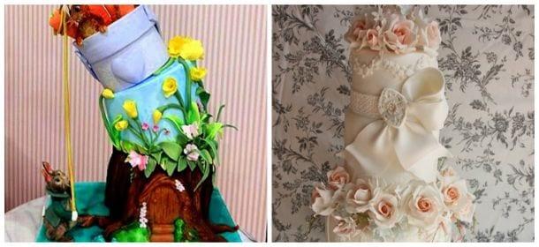 Le torte da sogno del Cake Design Italian Festival ...