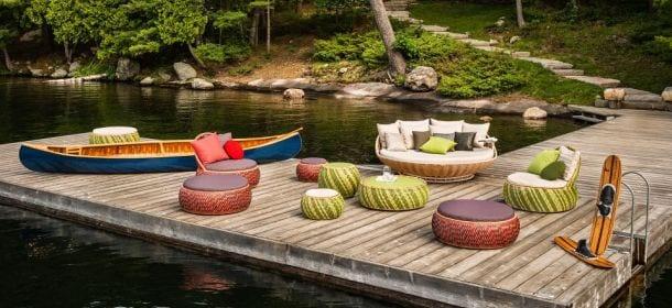 Vivere l estate 2 l arredo da giardino di dedon velvet for Design di mobili da giardino