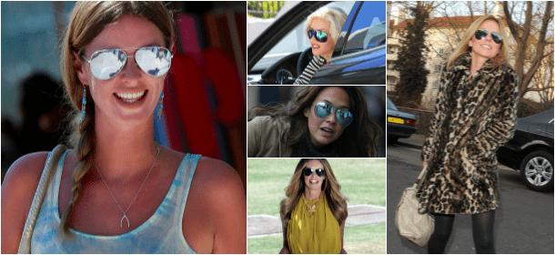 Le star scelgono gli occhiali a specchio per l 39 estate 2013 velvet style velvetstyle - Occhiali per truccarsi allo specchio ...