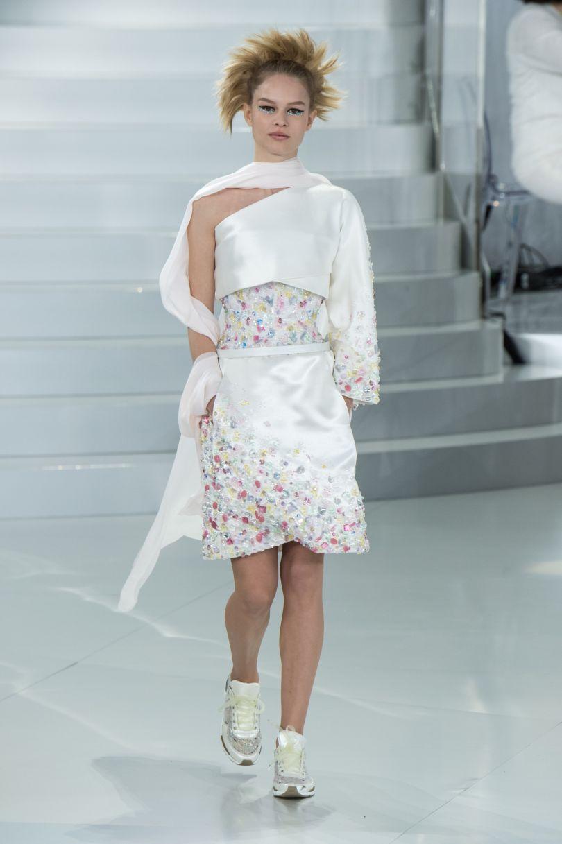 Sfilata chanel velvet style velvetstyle for Chanel alta moda