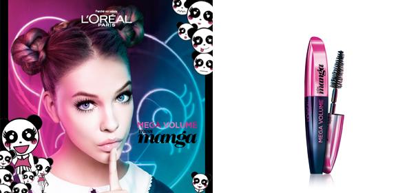 L oréal lancia il mascara miss manga per occhioni da
