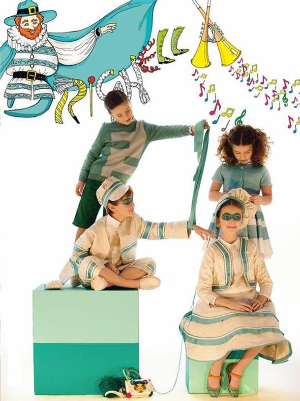 Costume Costume Carnevale Vogue Bambini