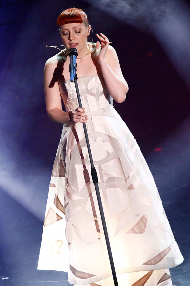 Noemi look Sanremo 2014