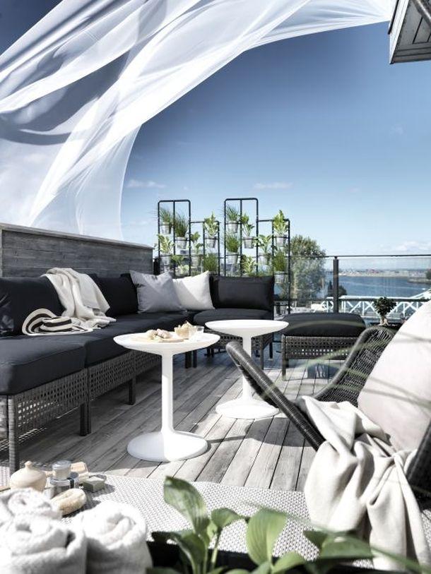 L\'estate di Ikea: design low cost per arredare balcone e giardino ...