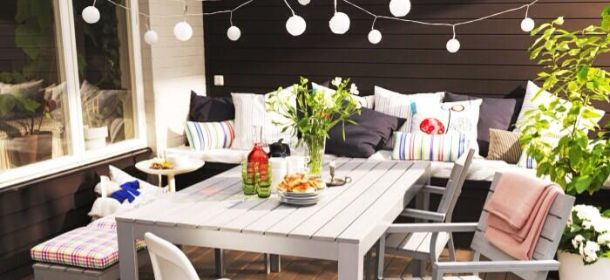 L 39 estate di ikea design low cost per arredare balcone e for Tavoli design low cost