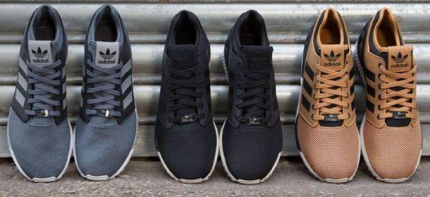 adidas zx nere pelle