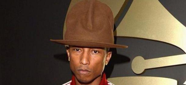 """Pharrell Williams: il cappello di """"Happy"""" finisce al museo"""