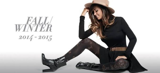 Goldenpoint Fall/Winter: Federica Nargi in leggings ...