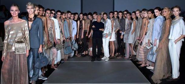 Settimana della moda a milano le sfilate di armani for Design della moda milano