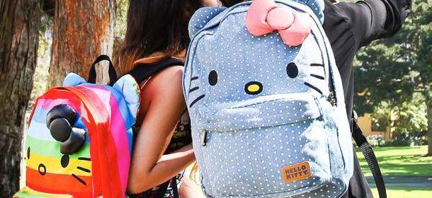 Zaini bimba: tornare a scuola con Violetta, Hello Kitty e ...