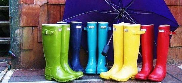 reputable site d1a5f eb1ac Stivali da pioggia: la moda strizza l'occhio al maltempo ...