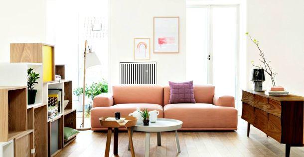 Dalani legno e colori pastello per riscaldare la casa nei for Dalani arredamento