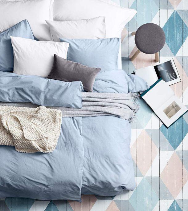 H m home design fantasie e linee minimal per arredare la - Camera da letto minimal ...