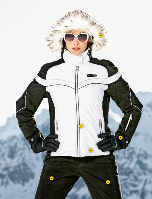 save off cad58 a024f La moda va sugli sci: tute, giacche e accessori per un ...