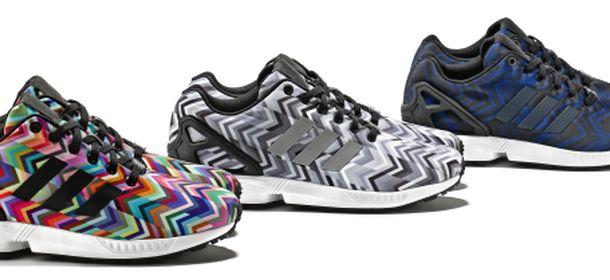 adidas zx flux multicolor oro