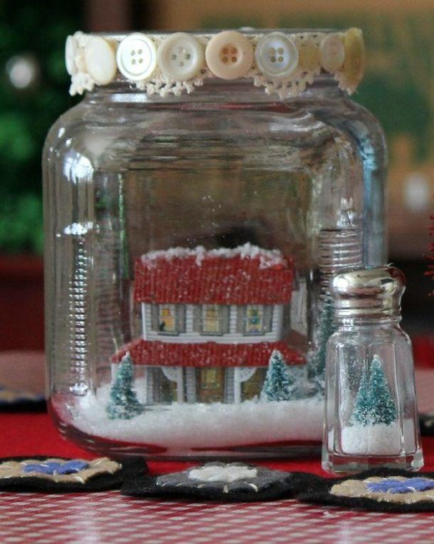 Natale in stile shabby 5 idee per un risultato ultra chic - Come decorare un barattolo ...