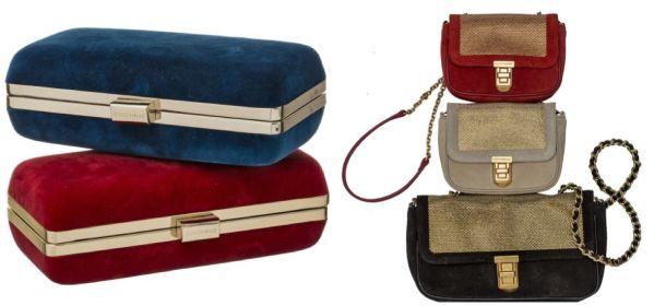velvet collection borse