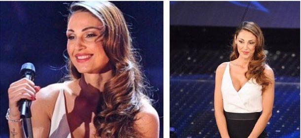 Sanremo, seconda serata: look ai voti. Sul podio Rocìo, Charlize Theron e Anna Tatangelo