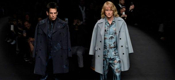 Valentino e Zoolander: la sfilata di Ben Stiller e Owen Wilson diventa uno show
