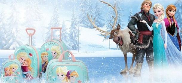 Disney by Samsonite: Frozen finisce sugli zaini per la scuola