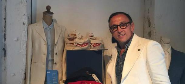 Bruno Barbieri stilista per Memory's ltd: giacche e camicie ecofriendly e di tendenza