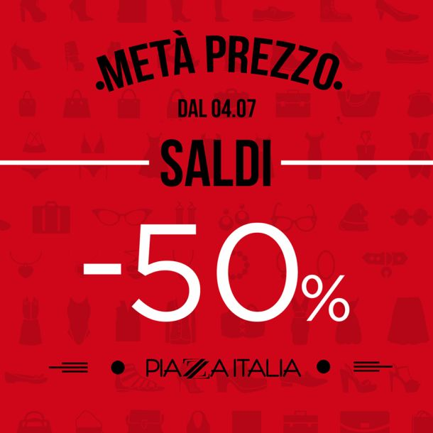 100% authentic 378c0 5ceda I saldi di Piazza Italia: t-shirt, pantaloni e beachwear ...