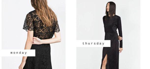 Zara, collezione autunno-inverno 2015/2016: capi oversize, pizzo e trasparenze