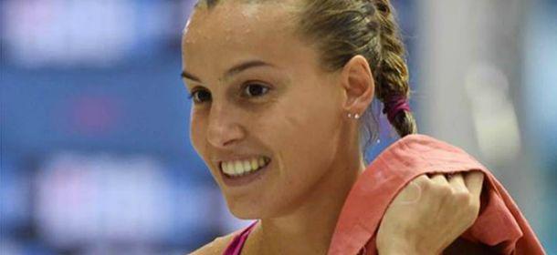 Tania Cagnotto sceglie Alessandra Rinaudo per il suo abito da sposa