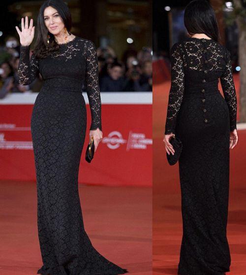 Festa del Cinema di Roma, Monica Bellucci sceglie Dolce & Gabbana per il red carpet [FOTO]