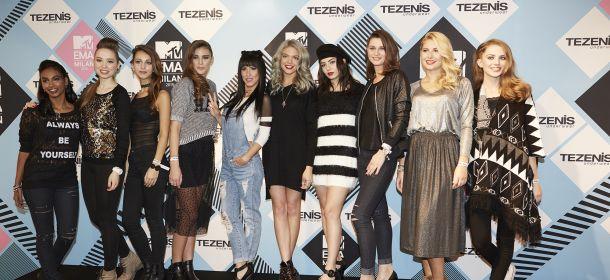 #EMAzingTezenisLook, Baby K e Charli XCX ospiti dell'evento con le vincitrici [FOTO]